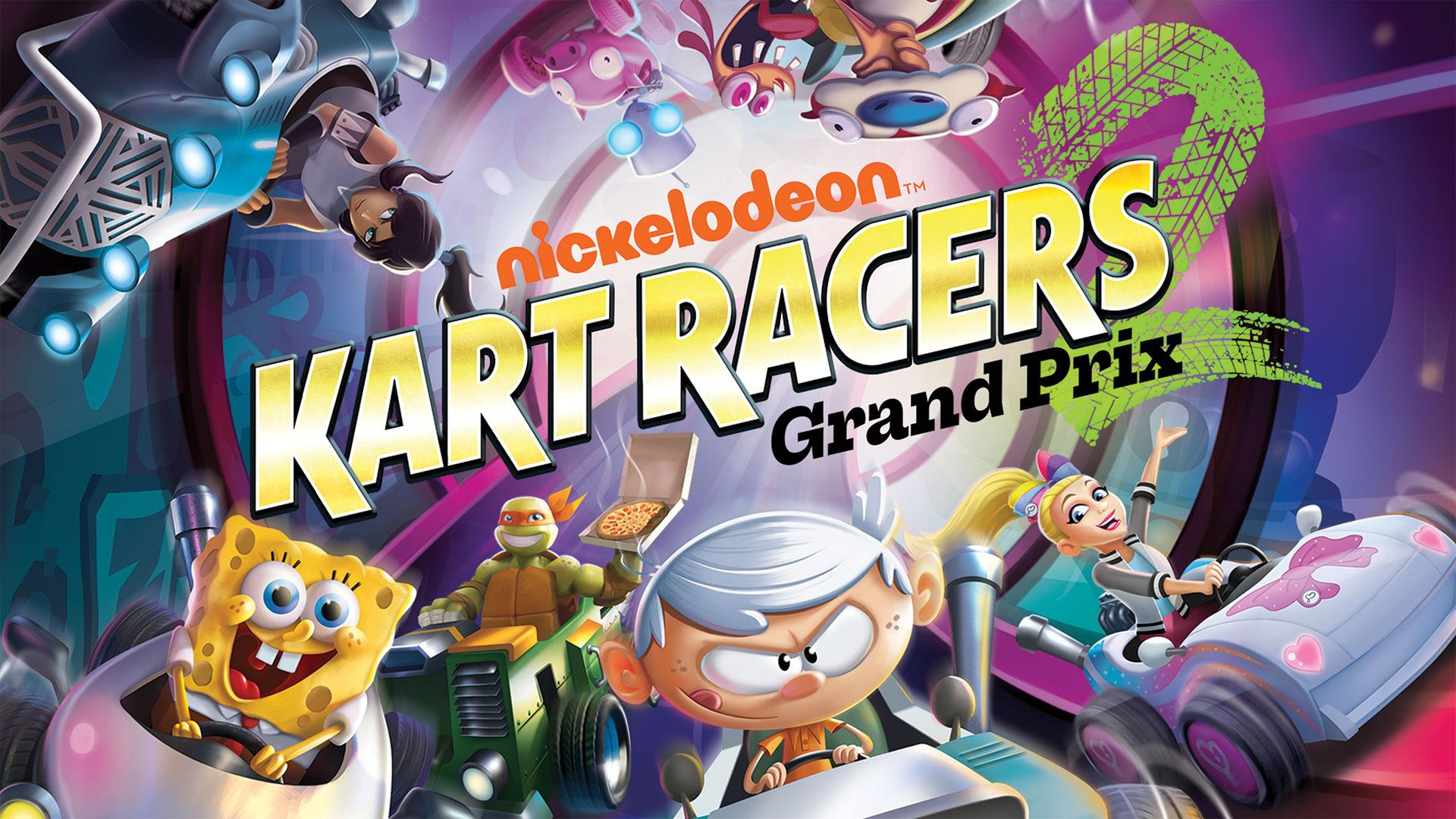 Análise Nickelodeon Kart Racers 2: Grand Prix