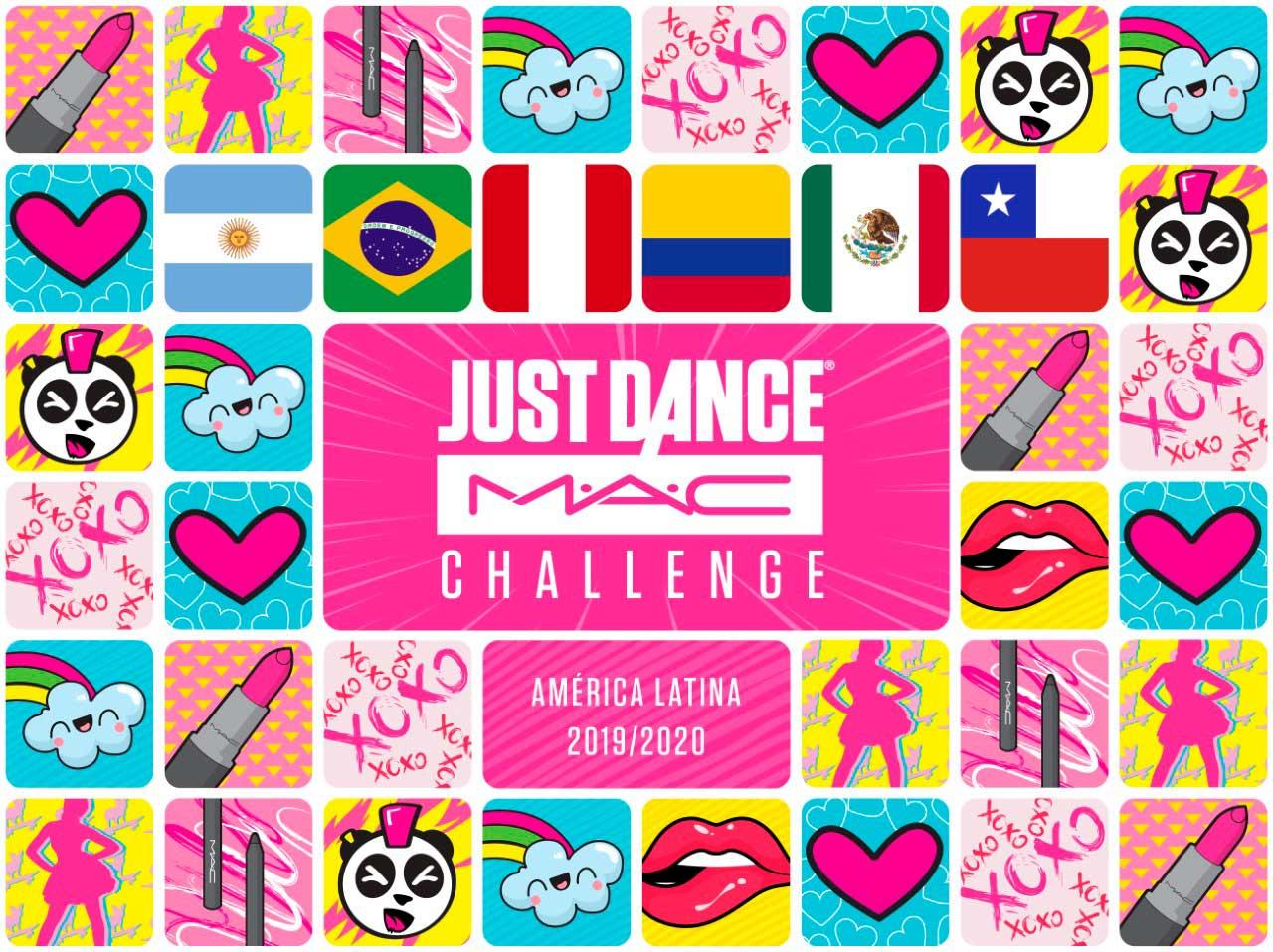 Just Dance M.A.C Challenge