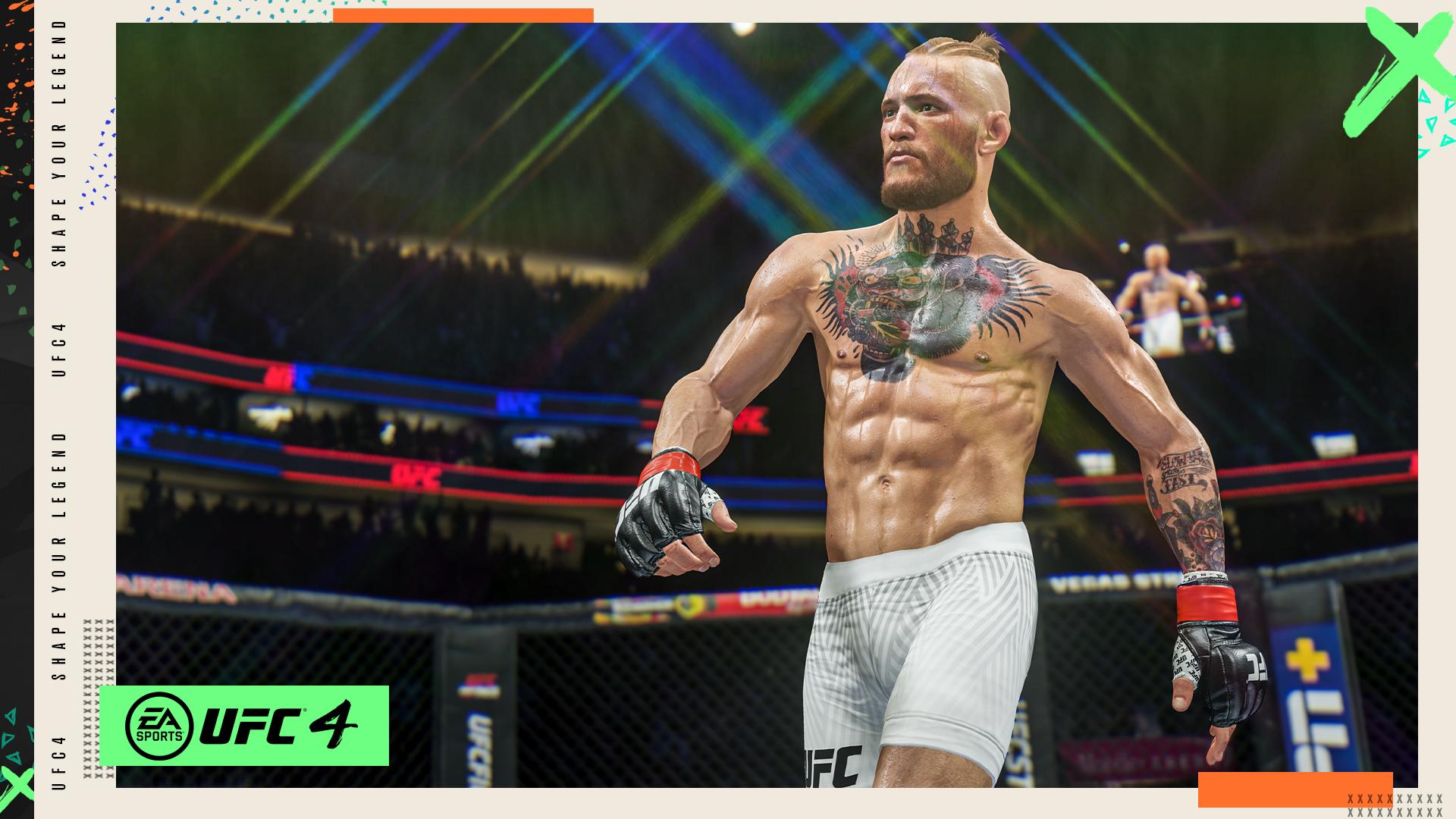 Conor McGregor ganha novo visual em UFC 4