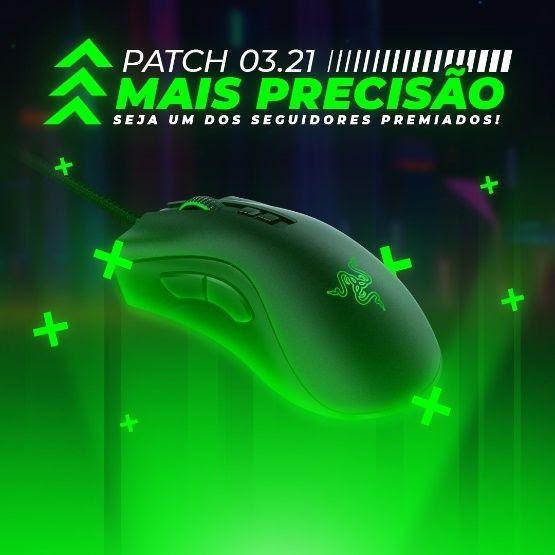 Nova promoção Razer Gold dá R$150 em Goldzin e um mouse Razer DeathVadder V2