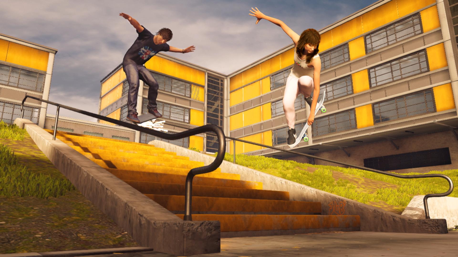 Tony Hawk's Pro Skater 1 and 2 switch