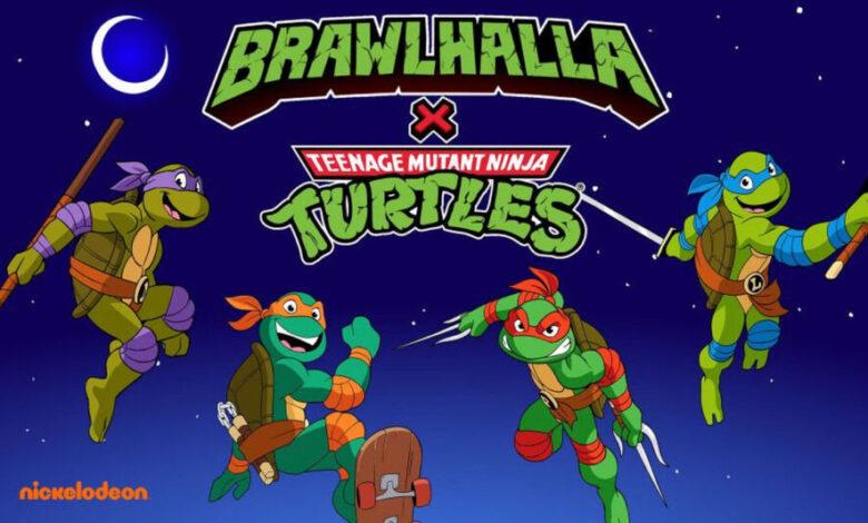 Tartarugas Ninja Brawlhalla