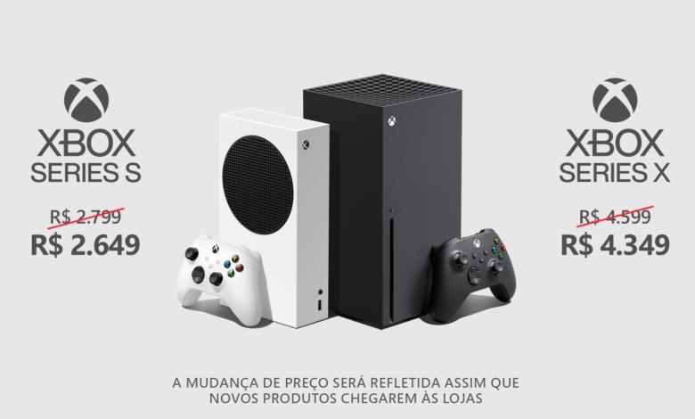 novos preços sugeridos xbox