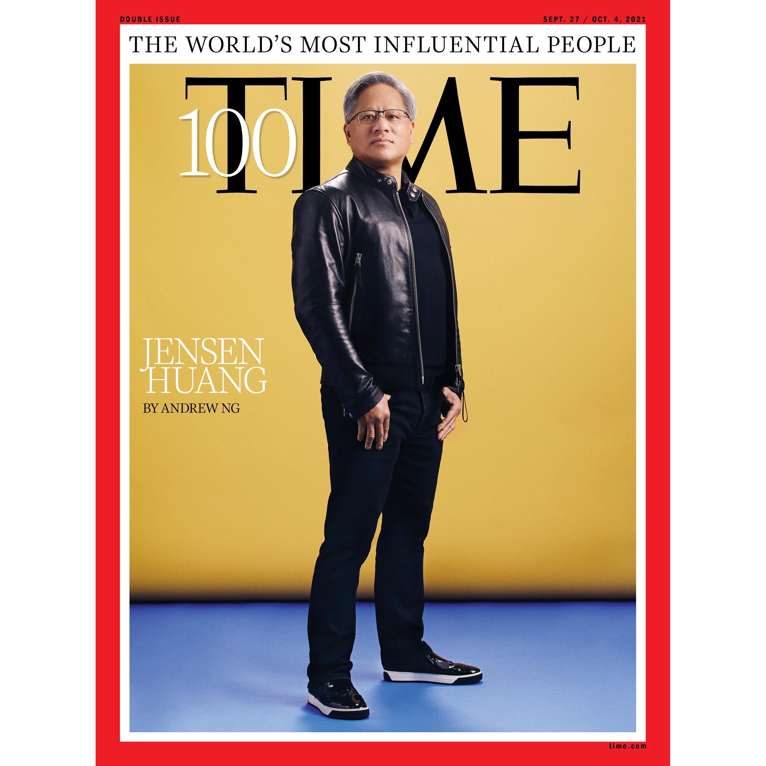 Jensen Huang 100 time