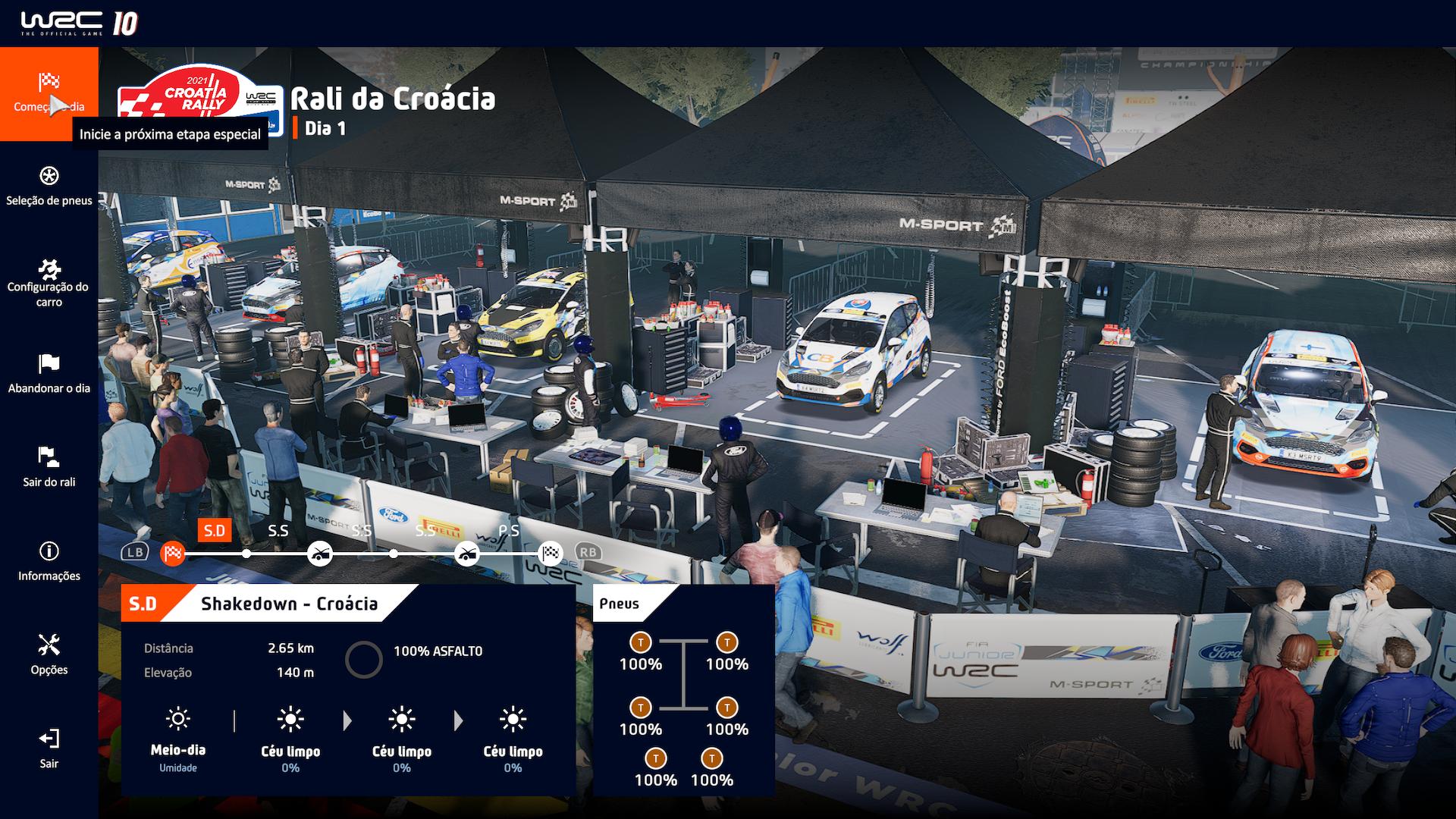 Análise WRC 10